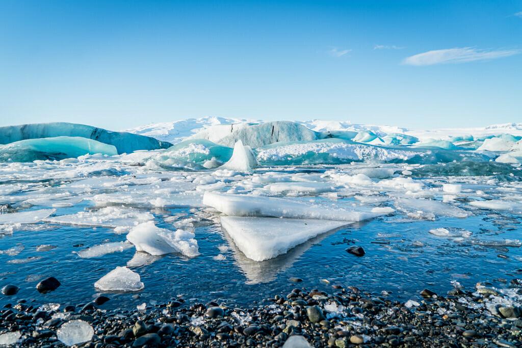 hielo en el ártico