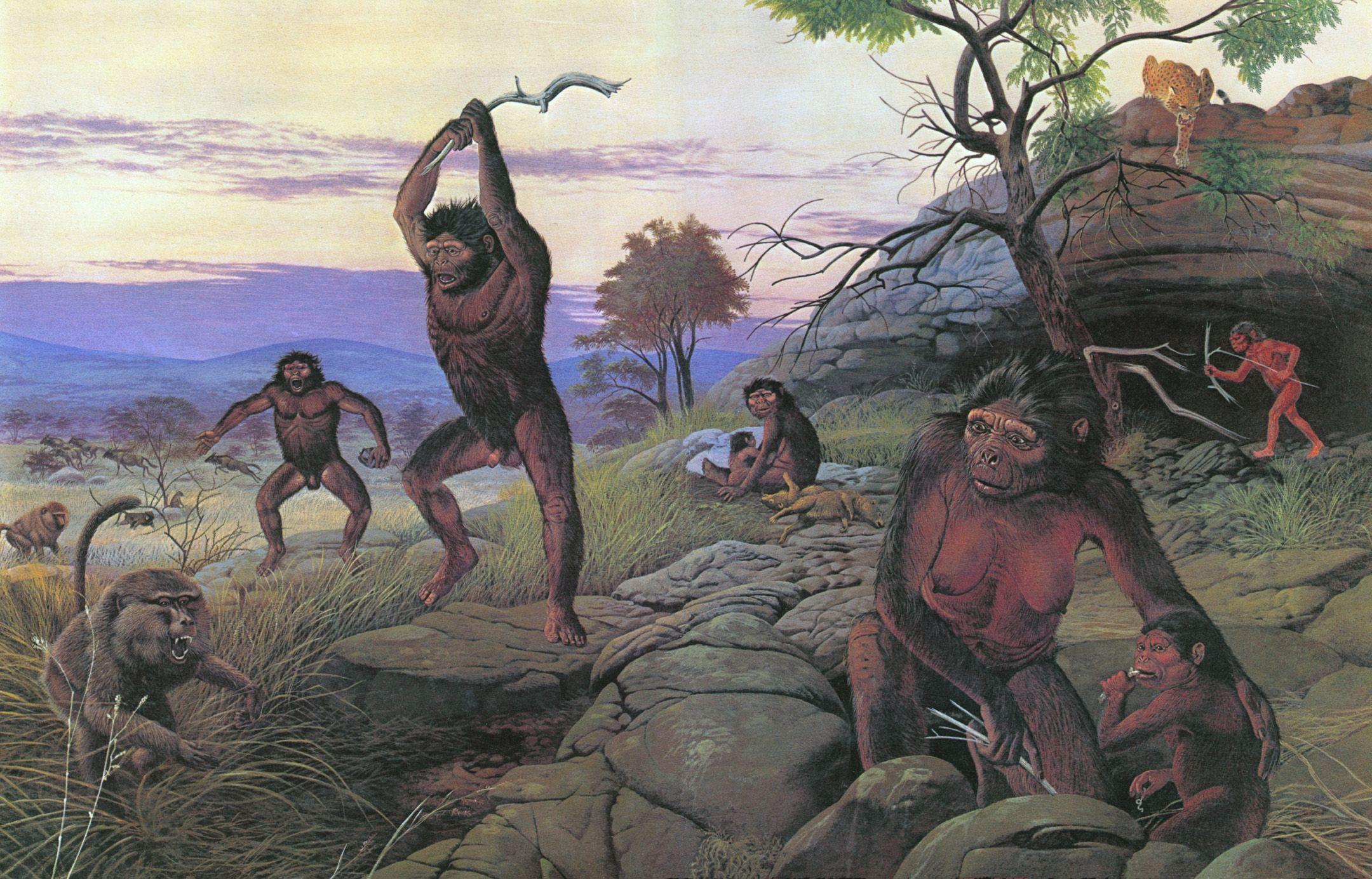 hombre prehistorico